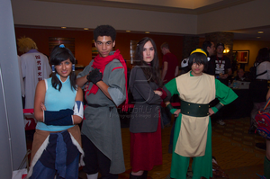 Legend of Korra and A:TLA Toph NDK 2012 by Thillbilli