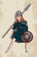 Historical Disney Warrior Princess - Merida by Pelycosaur24