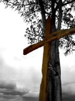 Cross and tree- second version by NAUX