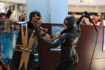 Cosplay Scorpion and Catwoman by CosplayQuest