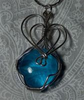 Wire pendant 139 by Kimantha333