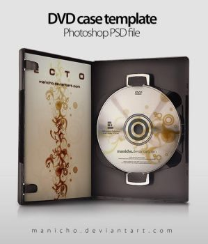 DVD Case+Art - PSD file by mauricioestrella