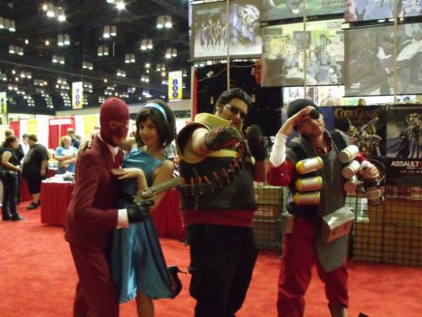 Meet the Reds-Megacon2011 by CHIOtheFALLEN