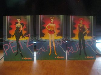Sailor moon R cards set 2 back by starfire9467