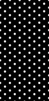 Black And White Polka Dots by emilythesmelly