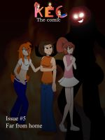 KEC the Comic issue 5 cover by misterj02