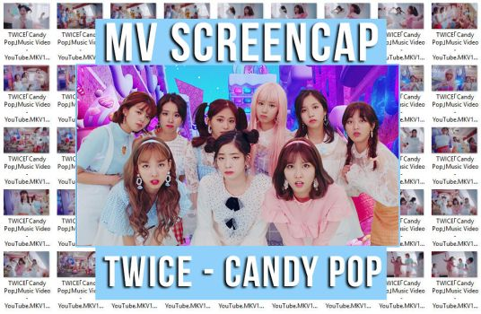 TWICE - Candy Pop MV ScreenCap by memiecute