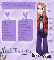 Meet The Artist by WhatTheFlup