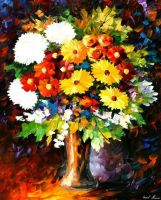 Scent Of The Night by Leonid Afremov by Leonidafremov