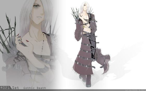 021 Set Gothic Death 200+Faves by DrawUsCloser