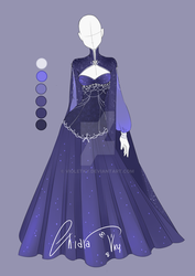 :: Adoptable Star Outfit: Auction CLOSED:: by VioletKy