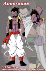 DBZ Fusion: Appule and Paragus by Tekkaman-James