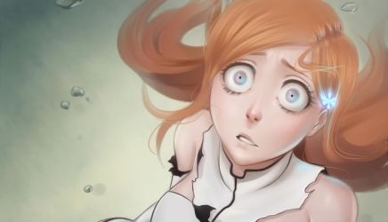 Screencap Redraw - Orihime by Nychse