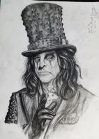 Alice Cooper by Sashich