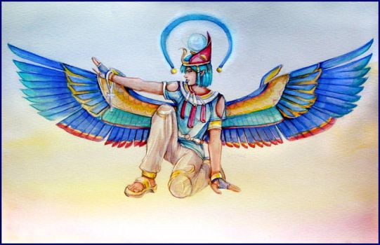 Wings of Egypt by Chael