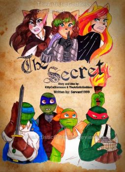 The Secret (cover, art trade) by TheArtisticGoddess