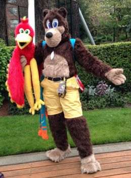 Banjo-Kazooie Fursuit by albinoshadow
