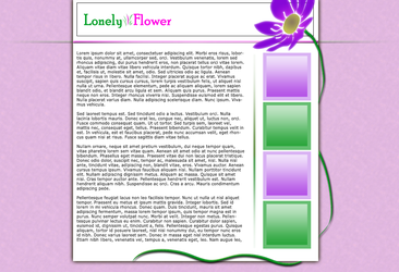 Lonely Flower by BlueCup