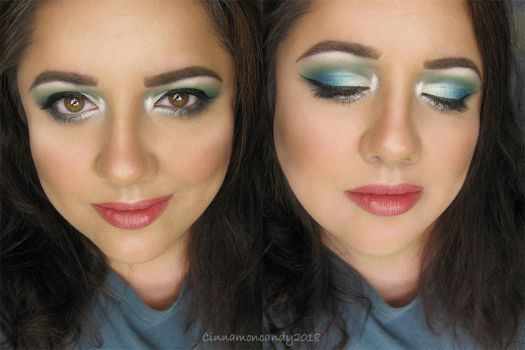 Myasthenia Gravis Awareness Month Makeup by Cinnamoncandy