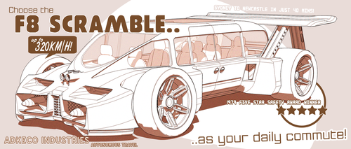 F8 Scramble Automated Commute by aconnoll