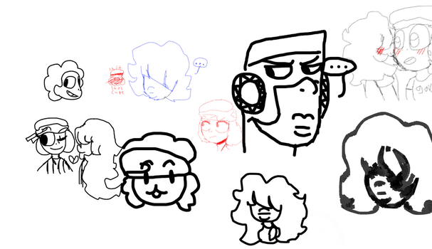 Made some doodles by KILLMEPLZ109