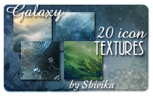 Galaxy Icon Textures by spiritcoda