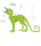 Dragon adoptable *CLOSED* by nessie904