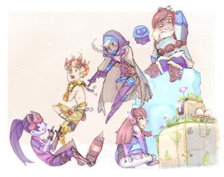 Overwatch - my little squad by biyavi