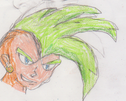 Green-Haired Punk by Gamma-V