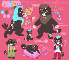 NEW Aristo Reference Sheet by SpunkyRacoon