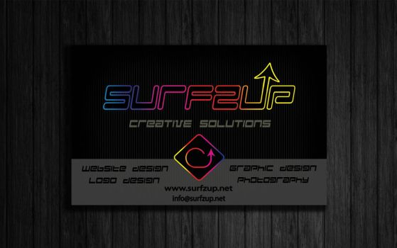 Surfzup Business Cards Front 1 by SURFZUP