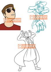 Oct2017 Patreon Requests by LizDoodlez