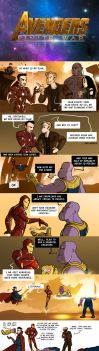 Avengers: Finite War | Alternate ending by oennarts