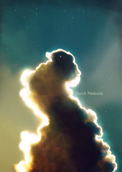 Duck Nebula by ZeroV25