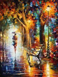 THE END OF PATIENCE by Leonid Afremov by Leonidafremov