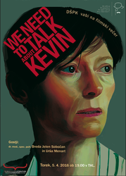 We Need to Talk About Kevin movie poster by metkich