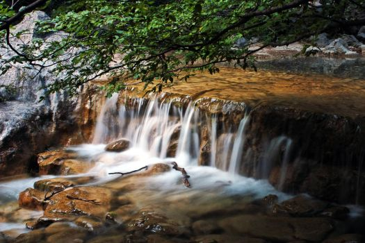 waterfall by mission-vao