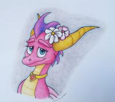 The Pink Dragon Girl by IcelectricSpyro