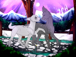 Winters Day Ych {CLOSED} by BetterthanaBase