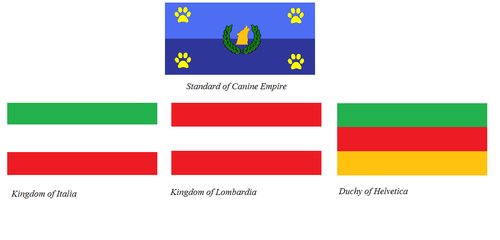 Flags of Canine Empire part 1 by KingSejong