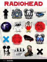 Radiohead Icons - MAC OS by allentattoo