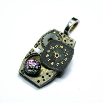 TIME 4 STEAMPUNK PENDANT by Create-A-Pendant