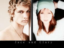 Jace and Clary by lilymoore