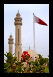 Bahrain Flag and Colors by derencio