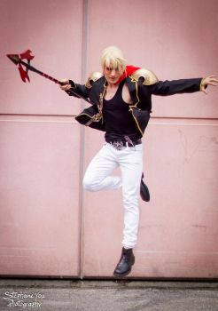 Nine - Final Fantasy Type-0 Cosplay First Preview by LeonChiroCosplayArt