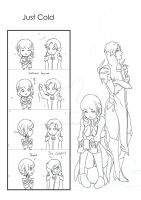 Warframe doodle comic Just cold by tanida35