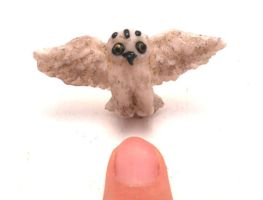 Miniature Hedwig, Harry potter by MiniSweetx