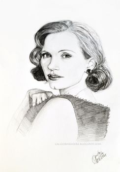 Jessica Chastain by Dontwannabemyself