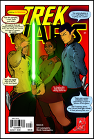 Star Trek Vs Star Wars #1 by CandyAppleFox