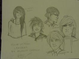 HOM: Leader Sketches by almost-captain